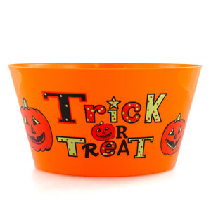 Halloween Trick or Treat Bowl