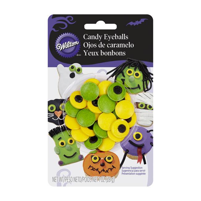 Wilton Halloween Spooky Candy Eyeballs