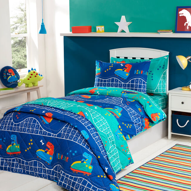 JUNIOR BED DUVET COVER Dino Day Out