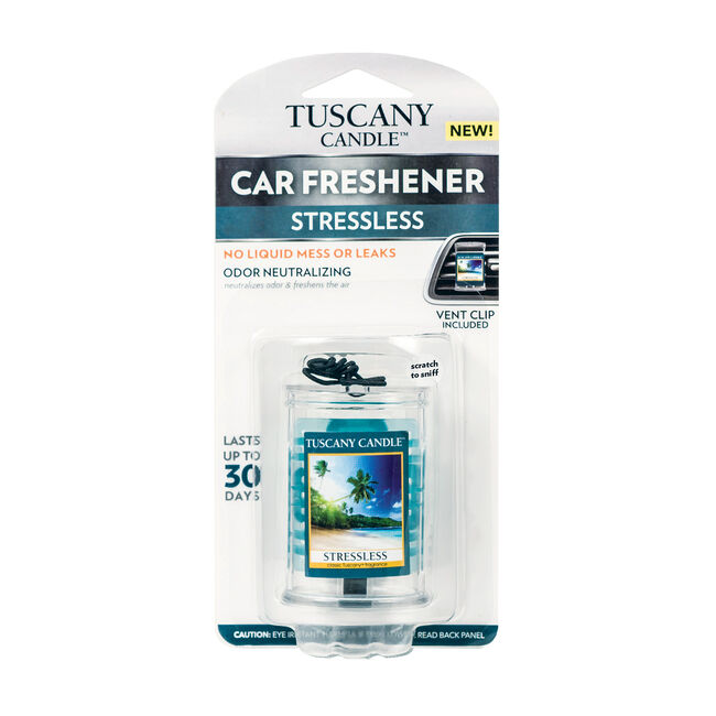 Tuscany Car Air Freshener - Stressless