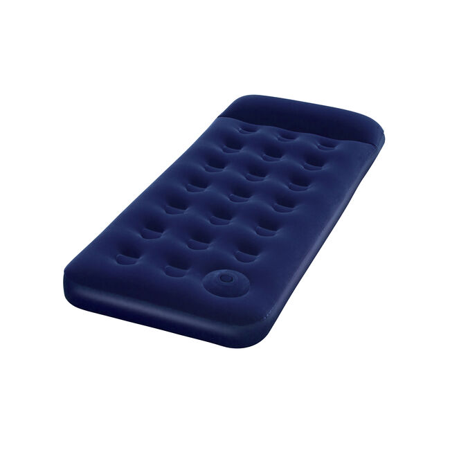 Easy Inflate Flocked Single Air Mattress