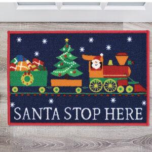 Santa Train Doormat 40 x 60cm