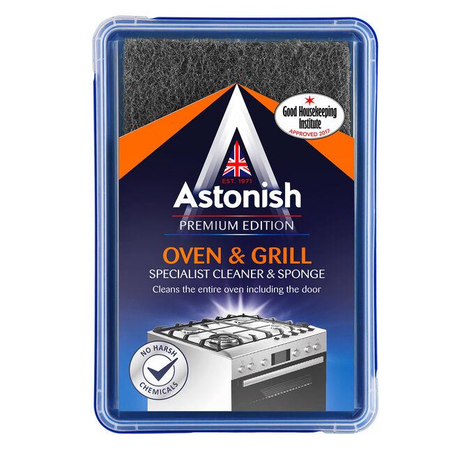 Astonish Premium Oven & Grill Cleaner with Sponge
