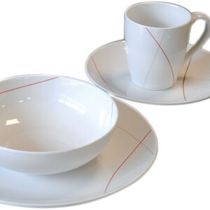 Abstract 16 Piece Dinner Set