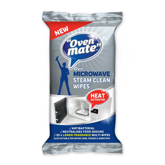 Oven Mate Microwave Cleaning Sponge: Oven Mate Microwave Steam Clean Wipes