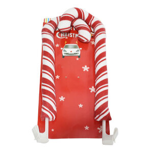 Christmas Candy Canes Car Decoration