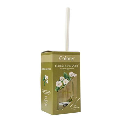 Colony Jasmine & Oudwood Reed Diffuser 200ml