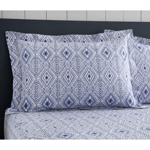 Richen Oxford Pillowcase Pair - Blue