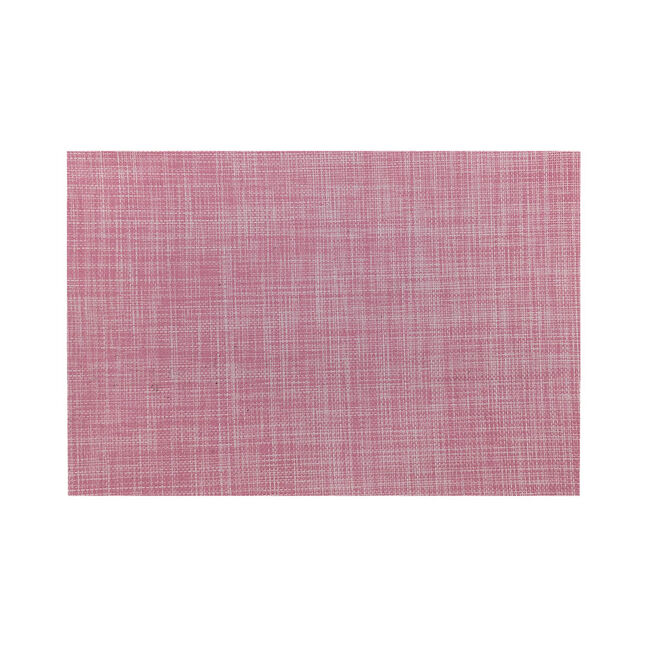 Rustic Woven Blush Placemat