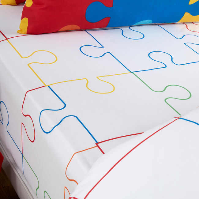 JIGSAW Double Fitted Sheet
