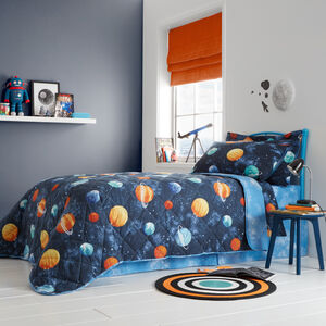 Planets Bedspread 200x220cm