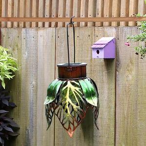 Hanging Leaf Solar Lantern