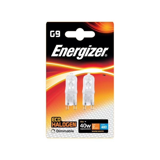 Eco Clear G9 2 Halogen Bulbs 33W