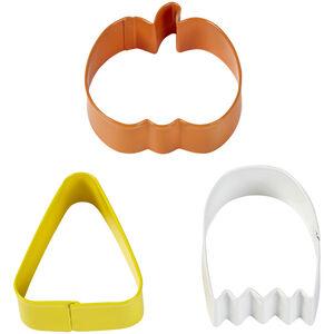 Wilton Halloween 3 Piece Pumpkin Cookie Cutter Set