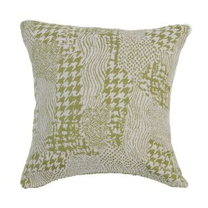 Alexa Patchwork Cushion Cover 45x45cm - Green