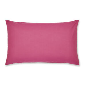 Luxury Percale Hot Pink Housewife Pillowcase Pair