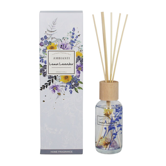 Ambianti Lemon Lavender Fragranced Reed Diffuser
