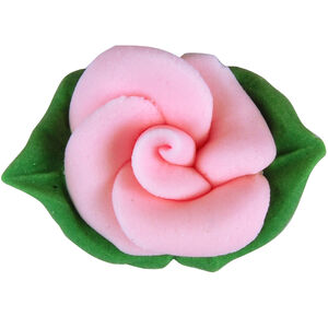 Pink Roses Sugarcraft Cake Toppers