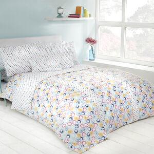 Retro Swirl  Bedspread