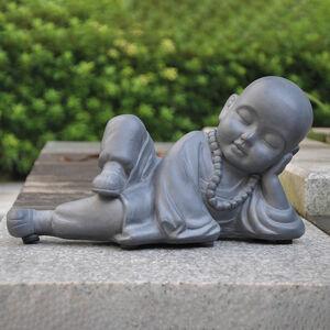 Buddha Fibre Clay Statue