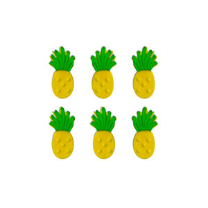Tropical Pineapple Sugarcraft Toppers