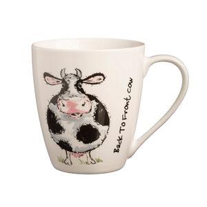 Price & Kensington Back To Front Cow Mug