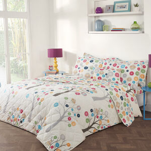 Button Trees Bedspread
