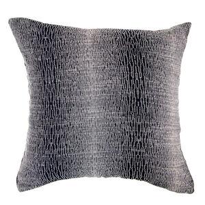 Interlock Cushion 45x45cm - Black/Bronze
