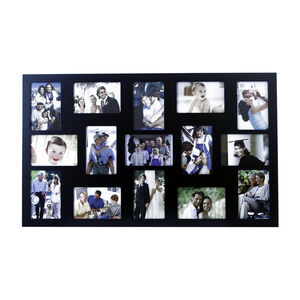 Classic Black 15 Window Photo Frame