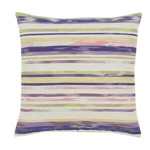 Summer Stripe Green Cushion 45cm x 45cm
