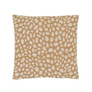 Pebbles Gold Cushion 45cm x 45cm