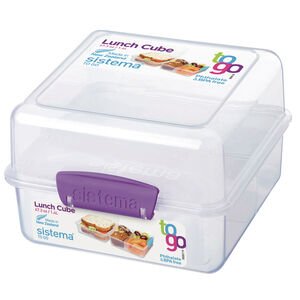 Sistema Lunch Cube with Coloured Clips