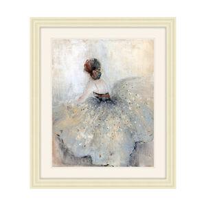 Framed Graceful Dancer 48x58cm