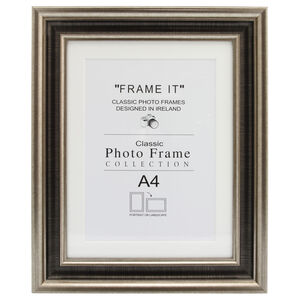 Med Antique Bronze Photo Frame A4