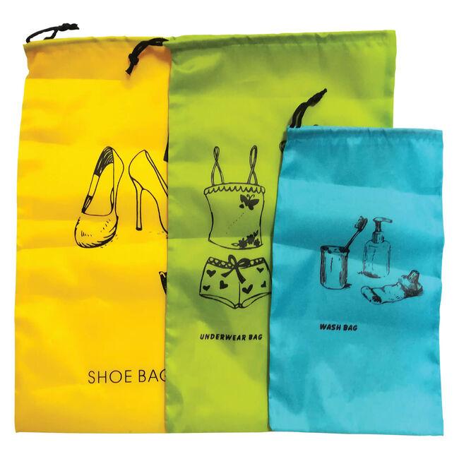 Travel Organiser Bag Set