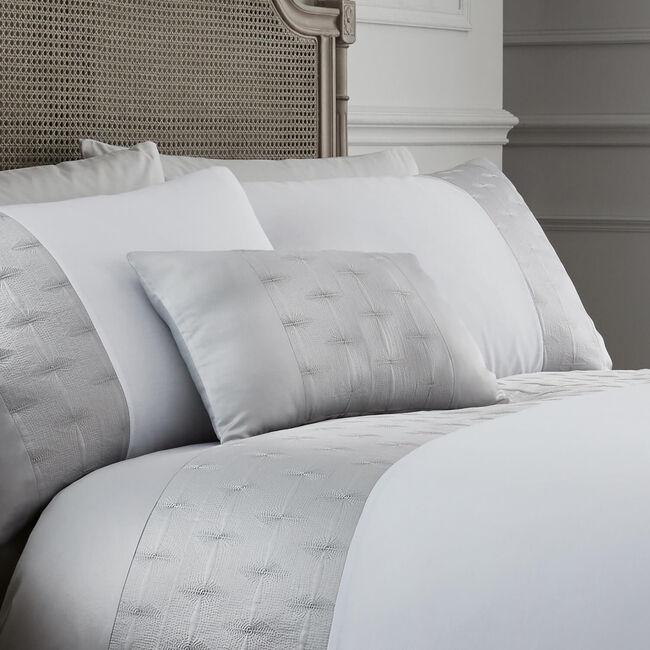 Mairead Silver Cushion 30x50cm