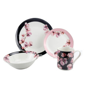 Orchid 16 Piece Dinner Set