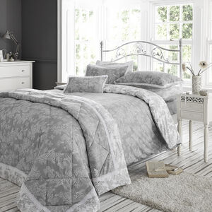 SINGLE DUVET COVER Millie Grey