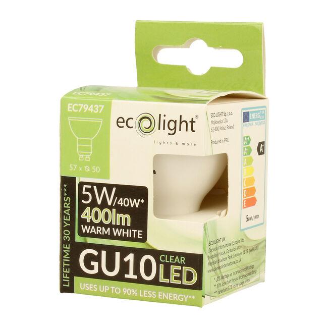 Eco Light 5W Warm Glo Bulb (GU10)