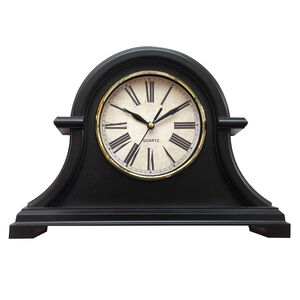 Antique Mantel Clock Brown