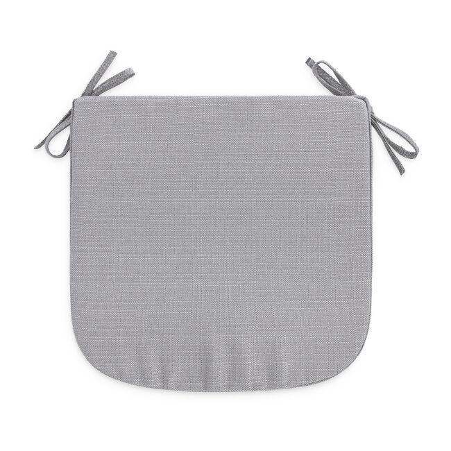 Woven Kitchen Seat Pad - Ice Grey