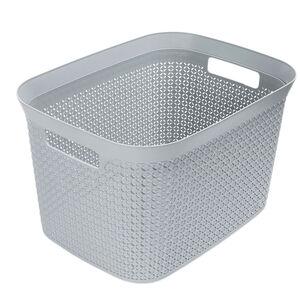 Ezy Mode 25L Open Basket Stone Grey
