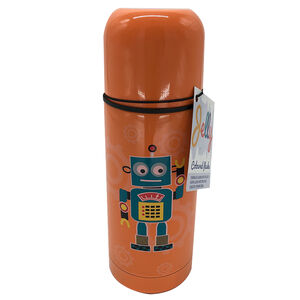 Jelly Childrens Robot Flask 350ml
