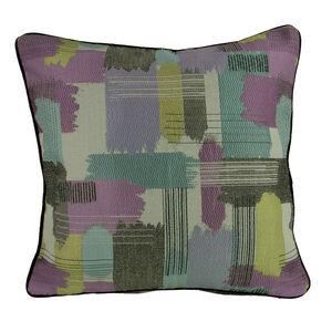 Patina Paint Stripe Cushion 45cm x 45cm
