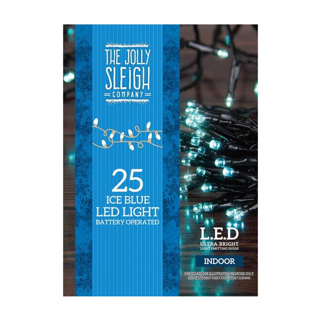 25 LED Lights Blue