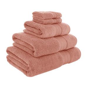 450GSM ZERO TWIST CORAL 30*30 Face Towel 2pk