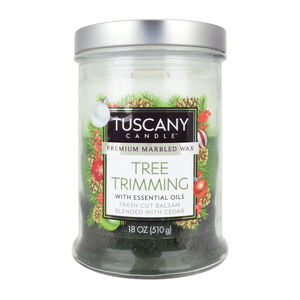 Tuscany Triple Pour Candle Tree Trimming