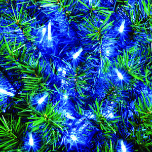 200 ICE BLUE MULTI FUNCTIONAL OUTDOOR LED TIME