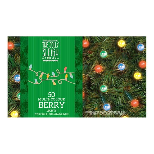 50 Multicolour Berry Lights