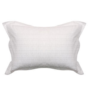 Mono Twine Grey Oxford Pillowcase Pair